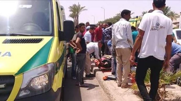 مصرع قائد دراجة نارية وإصابة طالب نتيجة حادث تصادم بعربة نقل