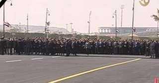 وصول رئيس الوزراء إلي  مسجد المشير طنطاوى للمشاركة فى تشييع جنازة مبارك