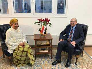 نائب السكرتير العام للأمم المتحدة تقدم واجب العزاء في وفاة الرئيس الأسبق حسني مبارك