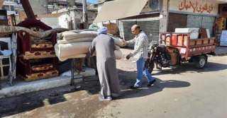 الغضبان: استمرار حملات إزالة التعديات والإشغالات بأحياء بورسعيد