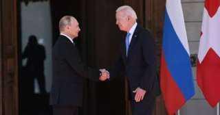 بوتين يبحث مع أعضاء مجلس الأمن القومى الروسى نتائج مباحثاته مع بايدن
