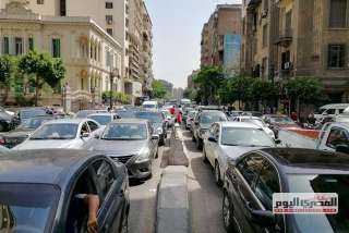 غلق ميدان عرابى بـ القاهرة الجديدة و تحويلات مرورية لمواجهة الكثافات
