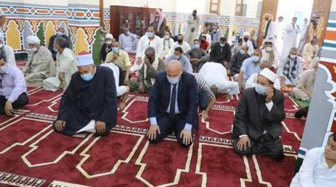أوقاف سوهاج تخصص 6855 مسجدا لأداء صلاة عيد الأضحى